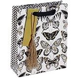 Bolsa de papel de regalo Clairefontaine 26991-3C Art D/éco tama/ño mediano, 21,5 x 10,2 x 25,3 cm