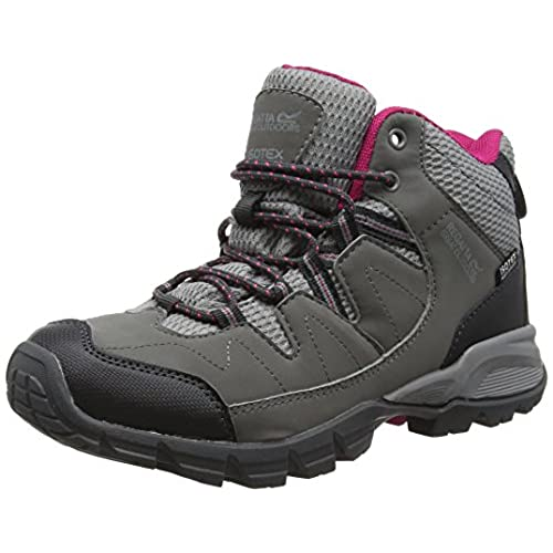 Regatta Lady Holcombe Mid, Women's High Rise Hiking Shoes, Grey (Steel/Vivaci), 6 UK (39 EU)