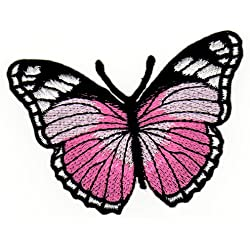 Toppa da cucire applicazione farfalla farfalla Butterfly per bambini