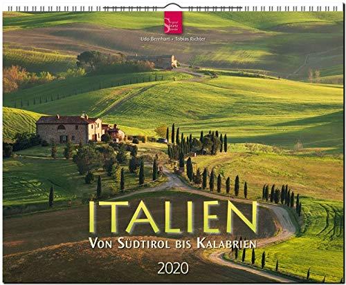 Italien - Von Südtirol bis Kalabrien: Original Stürtz-Kalender 2020 - Großformat-Kalender 60 x 48 cm