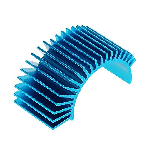 7012 Moteur Dissipateur De Chaleur Pour 1/10 Hsp Voiture Rc 540/550 Bleu 3650