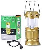 Kumar Retail Led Solar Emergency Light Lantern + Usb Mobile Charging+Torch Point, 2 Power Source Solar, Lithium Battery, Travel Camping Lantern