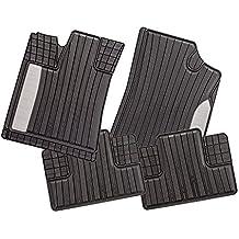 4-teilige schwarze Gummifußmatte für LEXUS IS II Bj 2005-2013