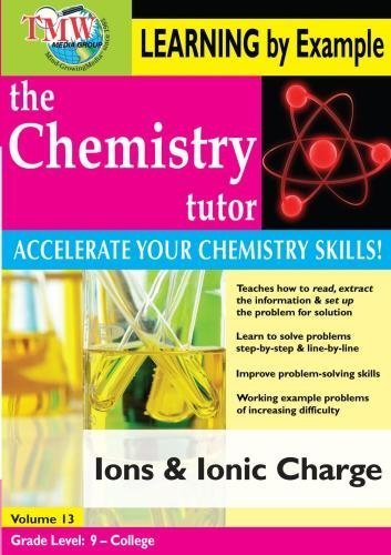 Preisvergleich Produktbild Chemistry Tutor: Learning By Example - Ions and Ionic Charge by Jason Gibson