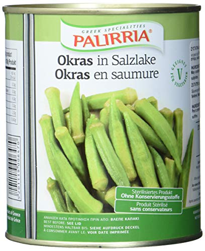 Palirria Okraschoten in Lake, 2er Pack (2 x 800 g)