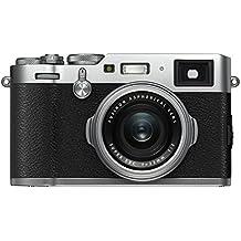 Fujifilm X100F Kompaktkamera mit 24,3 Megapixel X-Trans CMOS III Sensor silber