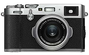 Fuji X100F 24.3 MP 3-Inch LCD CSC Camera with 23 mm f/2.0 Fujinon Lens Kit - Silver
