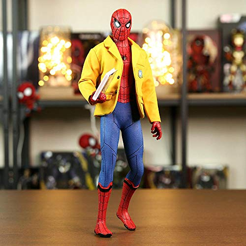 Marvel Avengers Spider-Man Heroes Zurück Vinyl Zurück Zu Schule Statische Charakter Modell Spielzeug Dekoration Hohe 30 cm