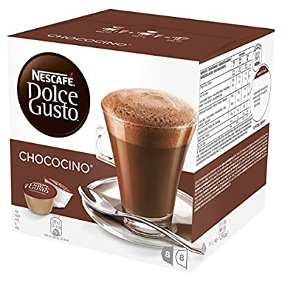 Nescafe Dolce Gusto Chococino, Pack of 3, 48-Count