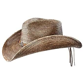 Stetson Chapeau Monterrey Bay Western de cowboy d´ete (XL (60-61 cm) - nature)