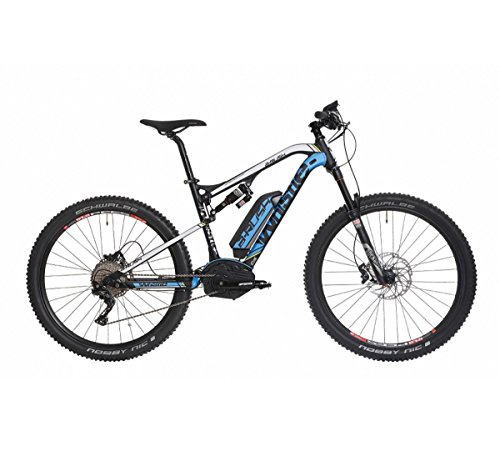 Whistle b-rush sl E-Bike, Elektrofahrrad, 69,85 cm (=27,5Zoll), Größe 51,Performance CX, 11Gänge, schwarz, E-Mountainbike
