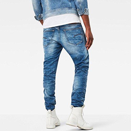 G-STAR RAW Herren Slim Jeans Blau (Lt Aged 424)