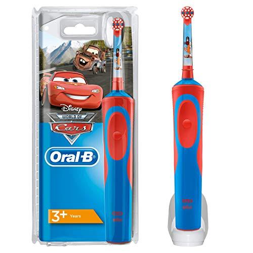 Oral-B Kids Elektrische Zahnbürste mit CarsFiguren (Oral-b Elektrische Zahnbürste)