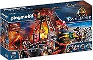 Playmobil - Mina de Lava de los Bandidos de Burnham, Juguete, Color Multicolor, 70390