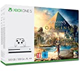 Microsoft Xbox One S 500GB Assassin's Creed Origins Bundle 500GB Wi-Fi White - Game Consoles (Xbox One S, 8192 MB, DDR3, AMD Jaguar, AMD Radeon, HDD)