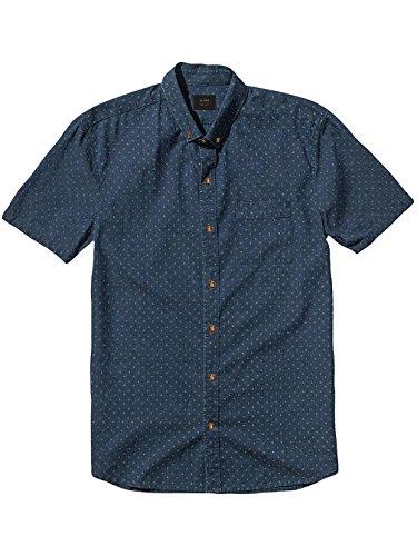 Herren Hemd Globe Kerferd Shirt Blue Indigo