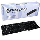 Laptop-Tastatur / Notebook Keyboard Ersatz Austausch Deutsch QWERTZ für Toshiba Satellite C650 C650D C655 C655D C660 C660D C670 C670D L650 L650D L655 L670 L670D L675 L675D ersetzt MP-09N16D0-698 (Deutsches Tastaturlayout)