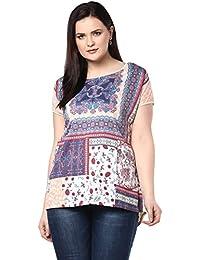 Alto Moda by Pantaloons Womens Polyester Cotton