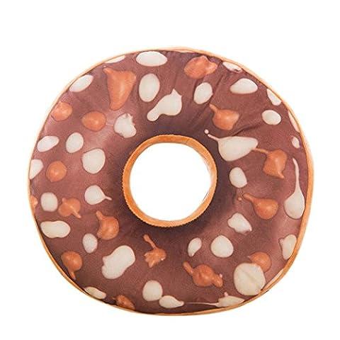 Decorie weiches Plüschkissen in Donut-Form, neues Design, Style B, Einheitsgröße