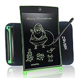 21,6 cm LCD writing tablet disegno digitale portatile Newyes touch pad robusto magnetico frigo planner lavagne ufficio con manicotto protettivo (verde)