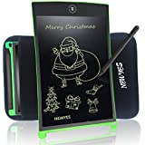 8,5 pulgadas tableta de escritura LCD Digital portátil newyes nywt085 Touch Pad Rugged Tablet planificador Oficina magnéticos para la nevera Memo tableros de dibujo con funda (verde)