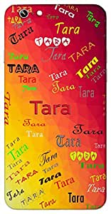 Tara (Star) Name & Sign Printed All over customize & Personalized!! Protective back cover for your Smart Phone : Infocos M2