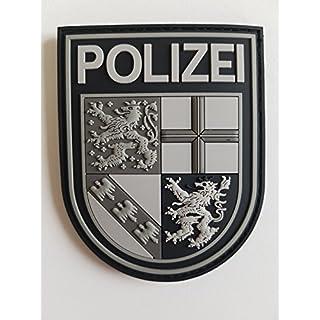 ATG Ärmelabzeichen Police Rhineland-Palatinate, 3D Rubber Patch (Blackops)