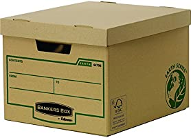 Bankers Box Earth Series Storage Box, Standard - Pack of 10