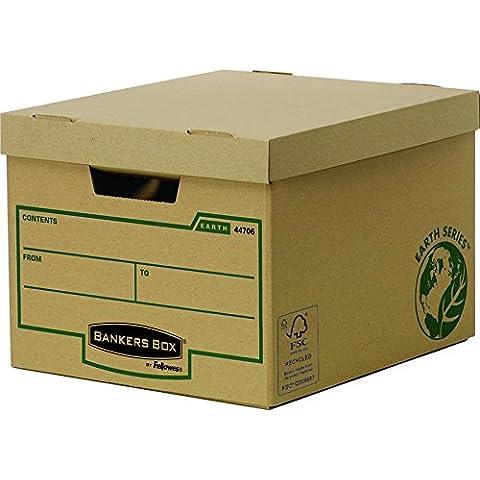 Fellowes Bankers Box Earth Series - Caja de almacenaje (10 unidades)