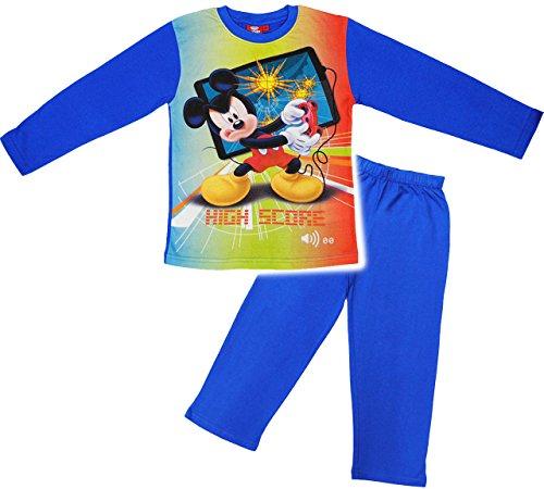 Maus Mickey Anzug (2 tlg. Set _ Hausanzug / Schlafanzug -