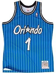 Anfernee Hardaway Orlando Magic Mitchell & Ness Authentic 1994Blue NBA Jersey Camiseta, XL/48