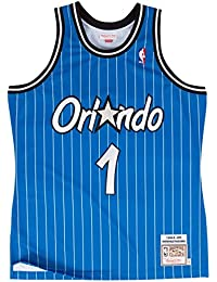Anfernee Hardaway Orlando Magic Mitchell & Ness Authentic 1994 Blue NBA Jersey Maillot