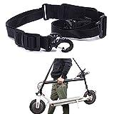 ZONSUSE Scooter-Tragegurt Verstellbarer Handtragegriff Schultergurt Gurt für xiaomi Elektroroller Kinderfahr