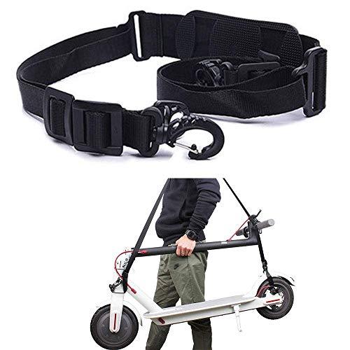 ZONSUSE Scooter-Tragegurt Schultergurt Gurt, Verstellbarer Schultergurt, für xiaomi mijia m365 Elektroroller,Kinder Fahrräder,Faltbare Fahrräder,Scooter Zubehör.