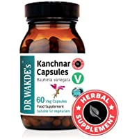 DR WAKDE'S® Kanchnar Kapseln (Bauhinia variegata) I 100% Kräuter I 60 Vegetarische Kapseln I Ayurvedische Nahrungsergänzung... preisvergleich bei billige-tabletten.eu