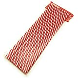 Satyam Kraft Plastic Reusable Drinking Straws - Suitable For Soft Drinks, Juices, Ice Tea, Butter Milk And Cocktails (Pack Of 10 Pcs) (Red)