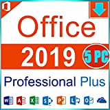 Microsoft Office 2019 Professional Plus 5 PC | Multilingual | Windows 10 | Word, Excel, PowerPoint, Outlook uvm. | Sofortversand Bild