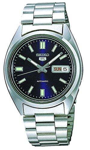 Seiko Reloj Analógico Automático para Hombre con Correa de Acero Inoxidable – SNXS77