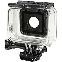 Rishil World Black Waterproof Under Water Diving Housing Case Cover Protector For Gopro Hero 5