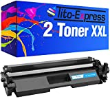 PlatinumSerie® 2X Toner-Patrone XXL für HP CF217A 17A Black M102A M102W M130A M130FN M130FW M130MFP M130NW M132A M132FN M132FP M132FW M132NW M132SNW Ultra M134A