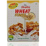 Shanti's Wheat Flakes, 250 Grams Combo