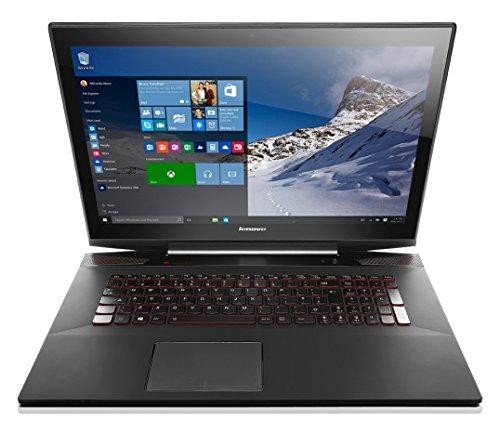 Lenovo Y70 17.3 inch Touchscreen Notebook (Intel Core i7-4720HQ, 16 GB RAM, 256 GB SSD, External DVDRW, WLAN, Bluetooth, Camera, nVidia Graphics, Windows 10 Home) - Black