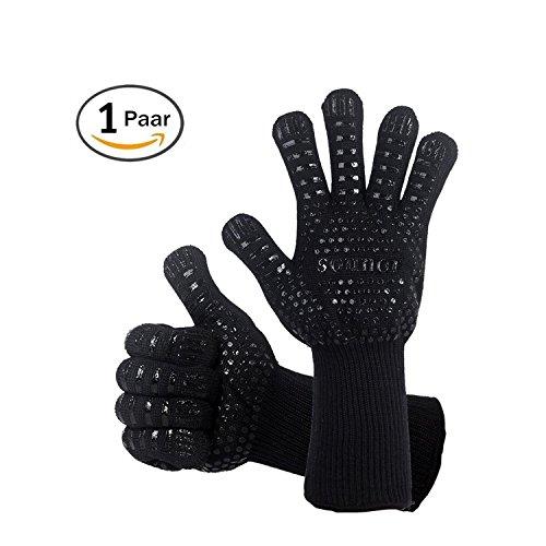 932℉ Handschuhe heiß BBQ Grillen Handschuhe extrem Hitzebeständig Kochen Ofen
