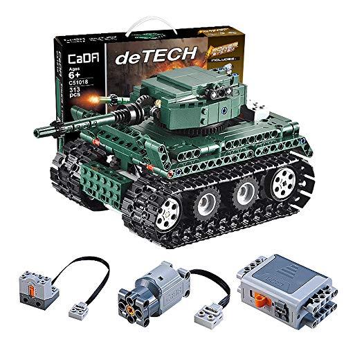 CGIIGI Elektrische Fernbedienung Tank DIY Montage baustein mechanische Wagen kreative Puzzle 2,4g rc Spielzeug Auto Teen Boy Thanksgiving Geschenk