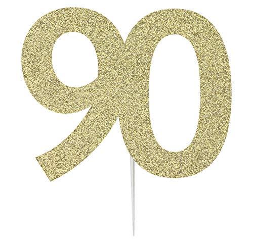 LissieLou - Tarjeta felicitación Tarta 90 cumpleaños