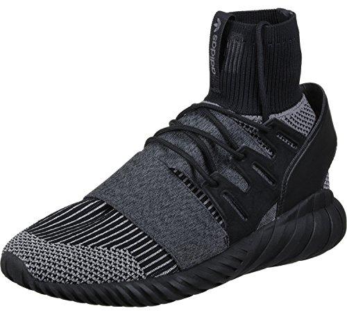 Adidas Mens Tubular Doom Pk Sneaker Nero Grigio
