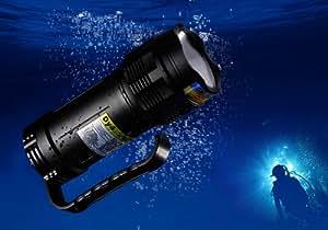 AGM® HID 65W 5000LM FH-08 Lampes de plongée 100M sous-marine Plongée sous-marine Lampe torche