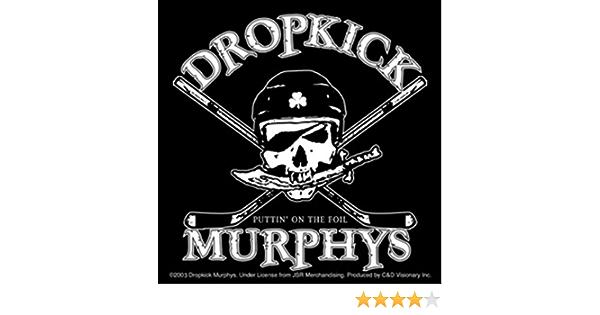 Dropkick Murphys Aufkleber Sticker 4 Puttin On The Foil 10x10cm Bürobedarf Schreibwaren
