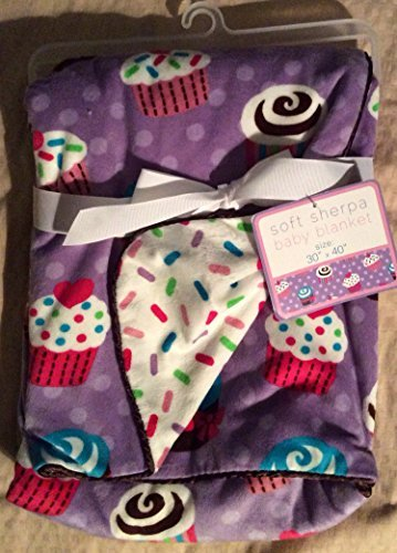 soft-sherpa-baby-blanket-baby-cakes-reversible-by-sl-baby-collection