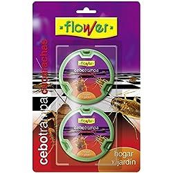 Flower 20570 20570-Cebo Trampa Anti-cucarachas, No No Aplica, 14.5x2.5x23 cm